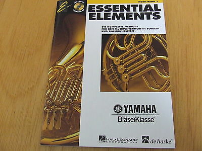 Essential Elements Band 1 mit CD Horn
