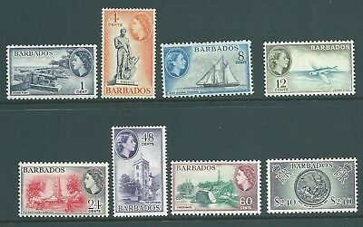 BARBADOS QE2 mint 'Pictorials' to $2.40
