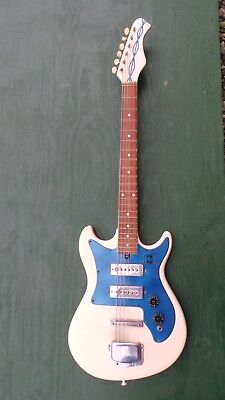 One Of A Kind Bed Pan Electric Guitar With Ibanez Neck Rare