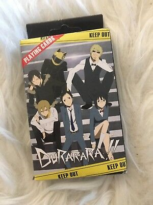 Durarara!! Anime Playing Cards
