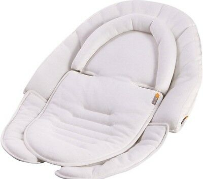 Bloom Universal Snug Liner Stroller High Chair Car Seat - Coconut White