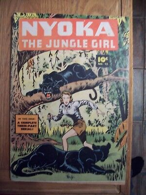 Nyoka The Jungle Girl #12 Vg+