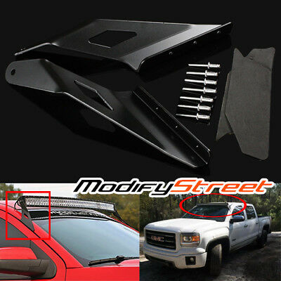 """For 14-16 Silverado//Sierra 1500 54/"""" Curved LED Light Bar Roof Mounting Brackets"""