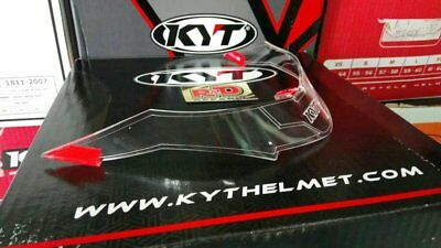 MOTOGP Helmet KYT Vendetta 2 Falcon - Rear Spoiler (Clear/Dark Smoke) BRAND NEW