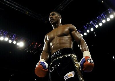 ANTHONY JOSHUA Boxing PHOTO Print POSTER Boxer AJ Heavyweight Champion Shirt 005