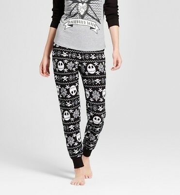 Disney Nightmare Before Christmas Jack Skellington XS Pajama Bottoms Thermals