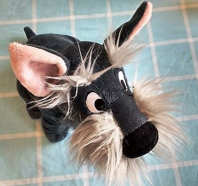 Disney Store Jock Soft Plush Toy 12'' Lady And The Tramp Scottie Dog