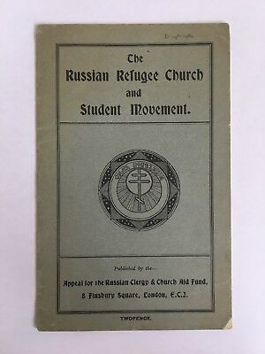 The Russian Refuge Church And Student Movement 1926