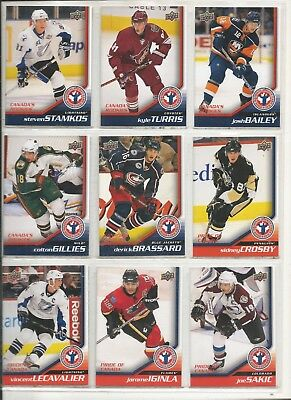 2008-09 UD Upper Deck NHCD National Hockey Card Day Complete Set (15 Cards) Mint