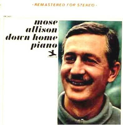 Mose Allison ‎– Down Home Piano   Label: Prestige ‎– PR 7423
