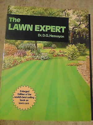 The Lawn  Expert  by Dr.D.G.Hessayon 102 pages of advice