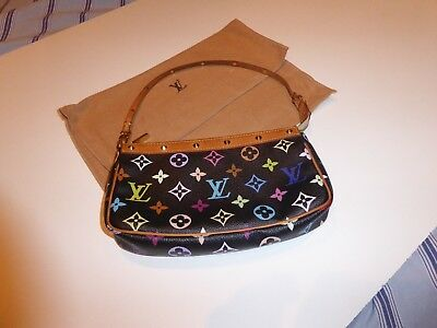 b1351bc880295 LOUIS VUITTON POCHETTE multicolor schwarz - EUR 151