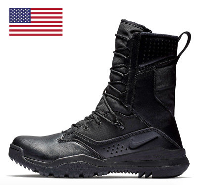"""Nike Sfb Field 2 8"""" Black Military Combat Tactical Boots Ao7507 001 [All Sizes]"""