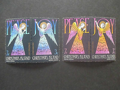 No 6--1972   CHRISTMAS  ISLAND  ISSUES  4   STAMPS   MINT-