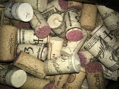 100 Natural Corks - Used from various wineries world wide