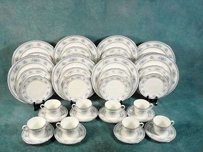 NEW Royal Doulton Laureate FULL SET for 8 Dinner cups Plates 5060 Old New Stock
