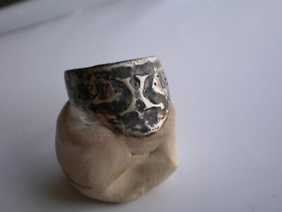 VERY RARE Legio X FRETENSIS  Ancient Antique-ROMAN LEGIONARY SILVER-RING