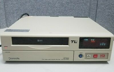 Panasonic AG-6730 S_VHS Professional Grade Time Lapse Security Recorder TL SVHS