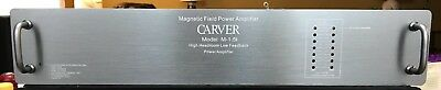 * Updated & Improved * CARVER M-1.5 amp Faceplate, Grey with Handles and Hrdw