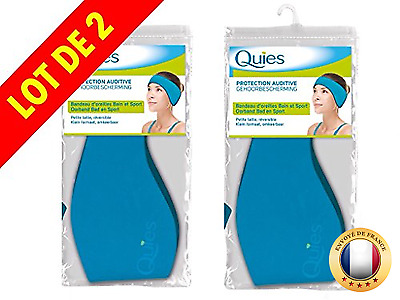 QUIES - protection auditive bandeau d'oreilles - petite taille - Lot de 2 Bande