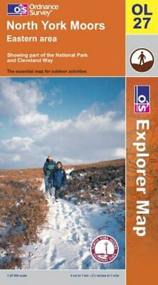 North York Moors: Eastern Area (Explorer... by Ordnance Survey Sheet map, folded