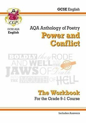 New GCSE English Literature AQA Poetry Workbook: Power & Conflic... by CGP Books