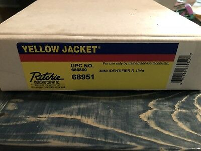 Yellow Jacket- Mini ID Refrigerant Identifier For R-134a