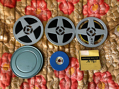 Lot of 14 Reels of Super 8mm Home Movies 4000 ft