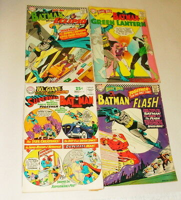 % 1960's Batman The Brave & The Bold   Comic Book Collection  Lot S-53
