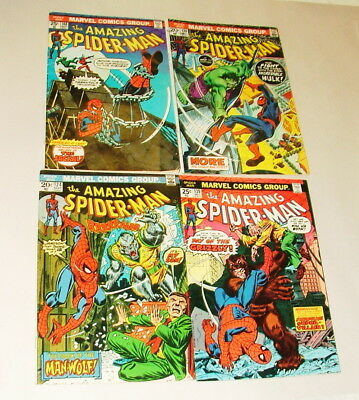 % 1970's The Amazing Spider-Man  Comic Book Collection  Lot S-51