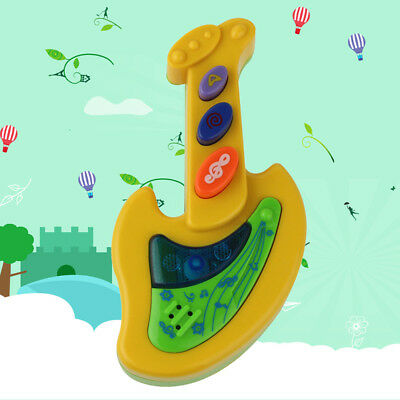 Cute Simulation Musical Guitar Instrument Toy Kids Educational Baby Gift