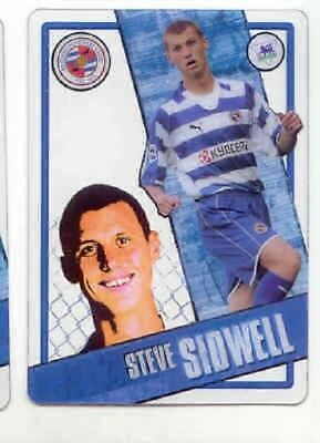 2006/7 Topps i-cards 072 Steve Sidwell - Reading