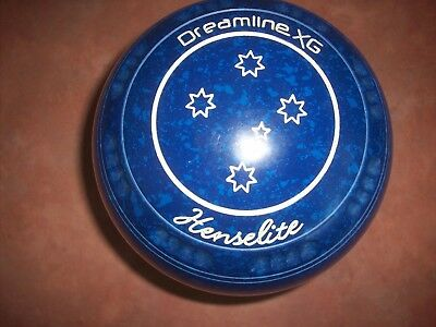 Henselite DREAMLINE XG Size 4H WB26 Blue Speckled Gripped As New