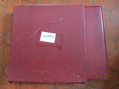 N0---37 -Aust;  Album &  Slip Case -Hingless 1976--1990 Linder  Album --Tops