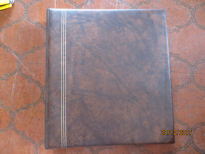 N0---31 -Fdc  Album --  Empty  --27  Double  Slip  Pages  Double  Sided--Tops