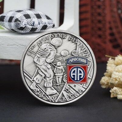 82 ND AIRBORNE DIVISION Commemorative Coin Collection Pop NEW