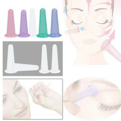 Facial Face Eye Silicone Cupping Vacuum Suction Lifting Massage Ageing Makeup UK