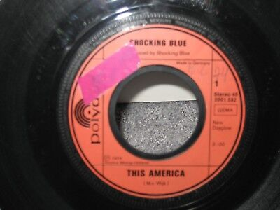 """Single The Shocking Blue """"This America/I won´t be lonely long"""""""
