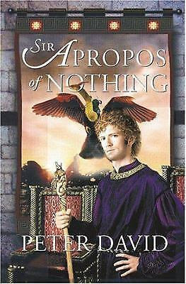 Sir Apropos of Nothing  (ExLib) by Peter David