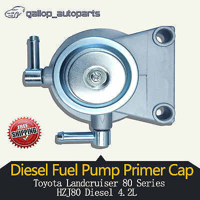 Fuel Filter Primer Pump Toyota 80Series Landcruiser HZJ80 4.2L Diesel 2330117150