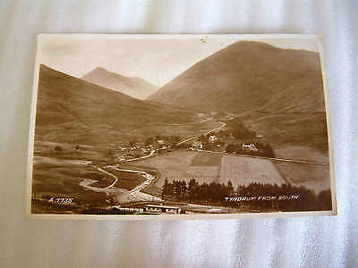 1939  Tyndrum From South  Postcard Valentines REAL Photo A 7735