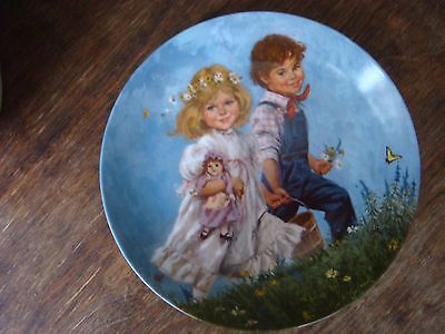 """""""Jack and Jill"""" 1986 Limited Edition Mother Goose series plate"""
