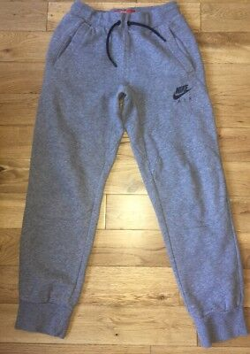 Nike Air Grey Jogging Bottoms 10-12 Years Great Condition