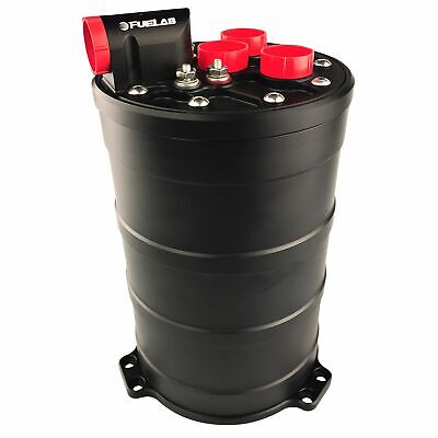 Fuelab Race / Rally Fuel Surge Tank System - Dual 340 LPH E85 Pump - 290mm Tall