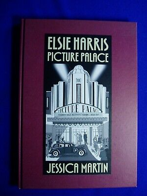 Elsie Harris Picture Palace: Jessica Martin. Movies interest GN. HC. 1st. VFN/NM