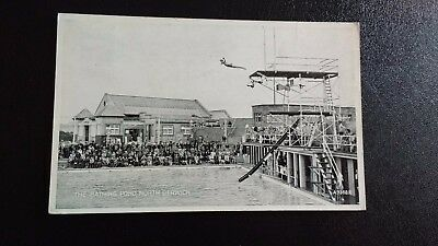The Bathing Pond North Berwick Vintage Postcard