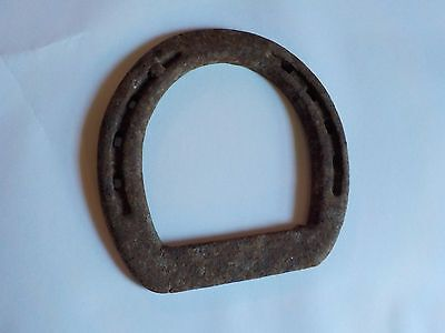 Antique Horse Shoe Rustic Rusty 4.75x4.75 Inches