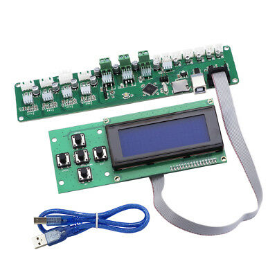 Melzi 2.0 1284P Control Mainboard P802M PCB Board with 5-key 2004 LCD Screen