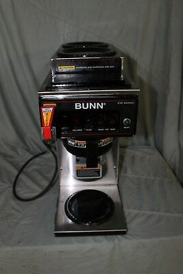 Bunn Cwtf15  Automatic Brewer With 3 Warmers