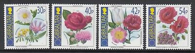 GIBRALTAR 2003 National FLOWERs of the New Members of the EU  - MNH FLORA